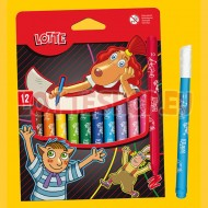 Lotte Felt Tips for colouring, 12pcs