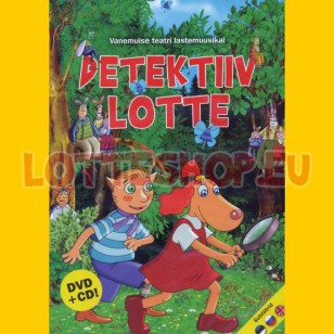 Detektiiv Lotte DVD+CD